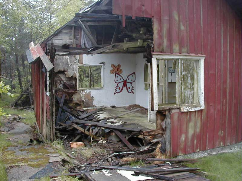 övergivna hus i sverige