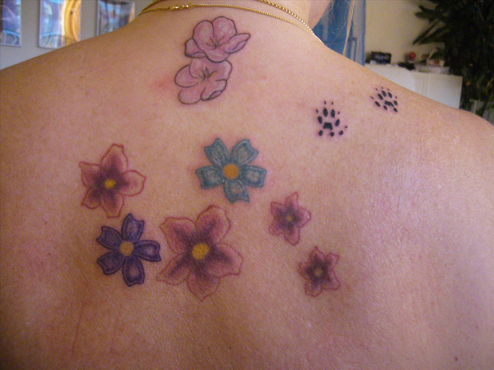 tatuera namn på underarmen