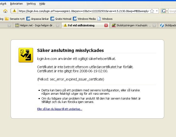 www.msn.se hotmail Karlshamn