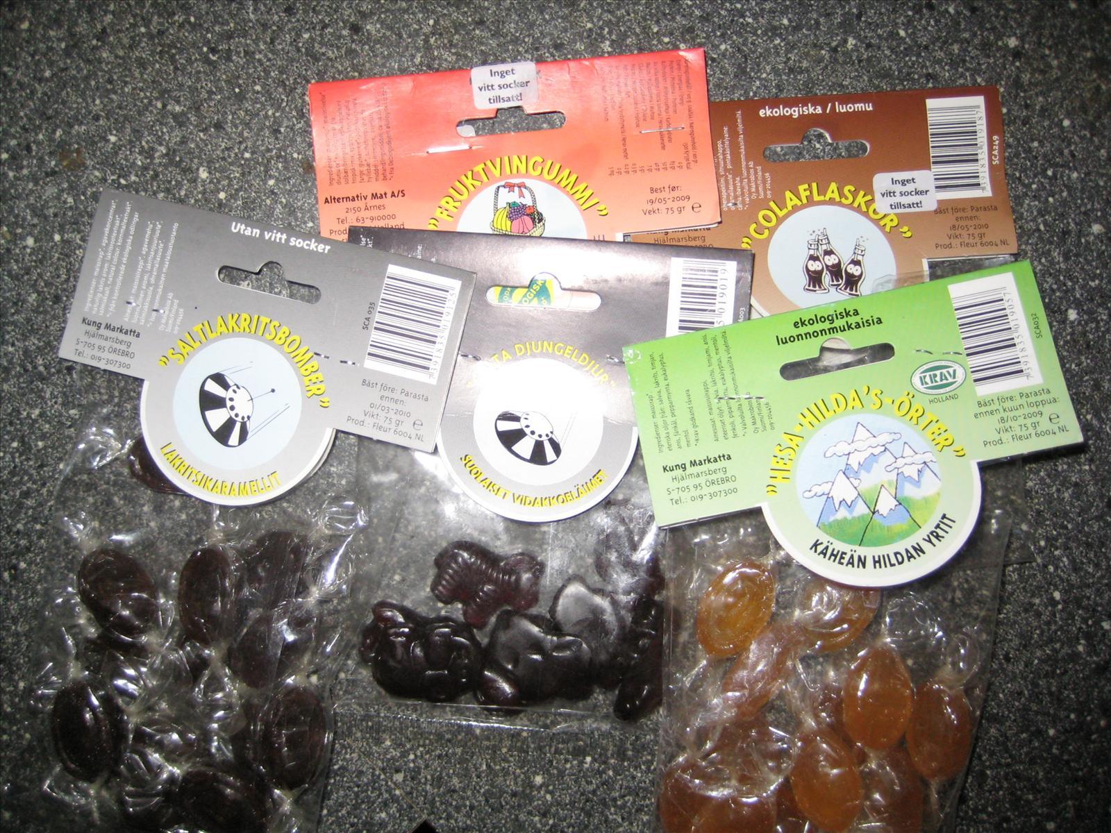 kan man äta sockerfritt godis lchf