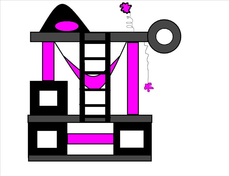 bygga klätterställning sovplats till katter ?  04