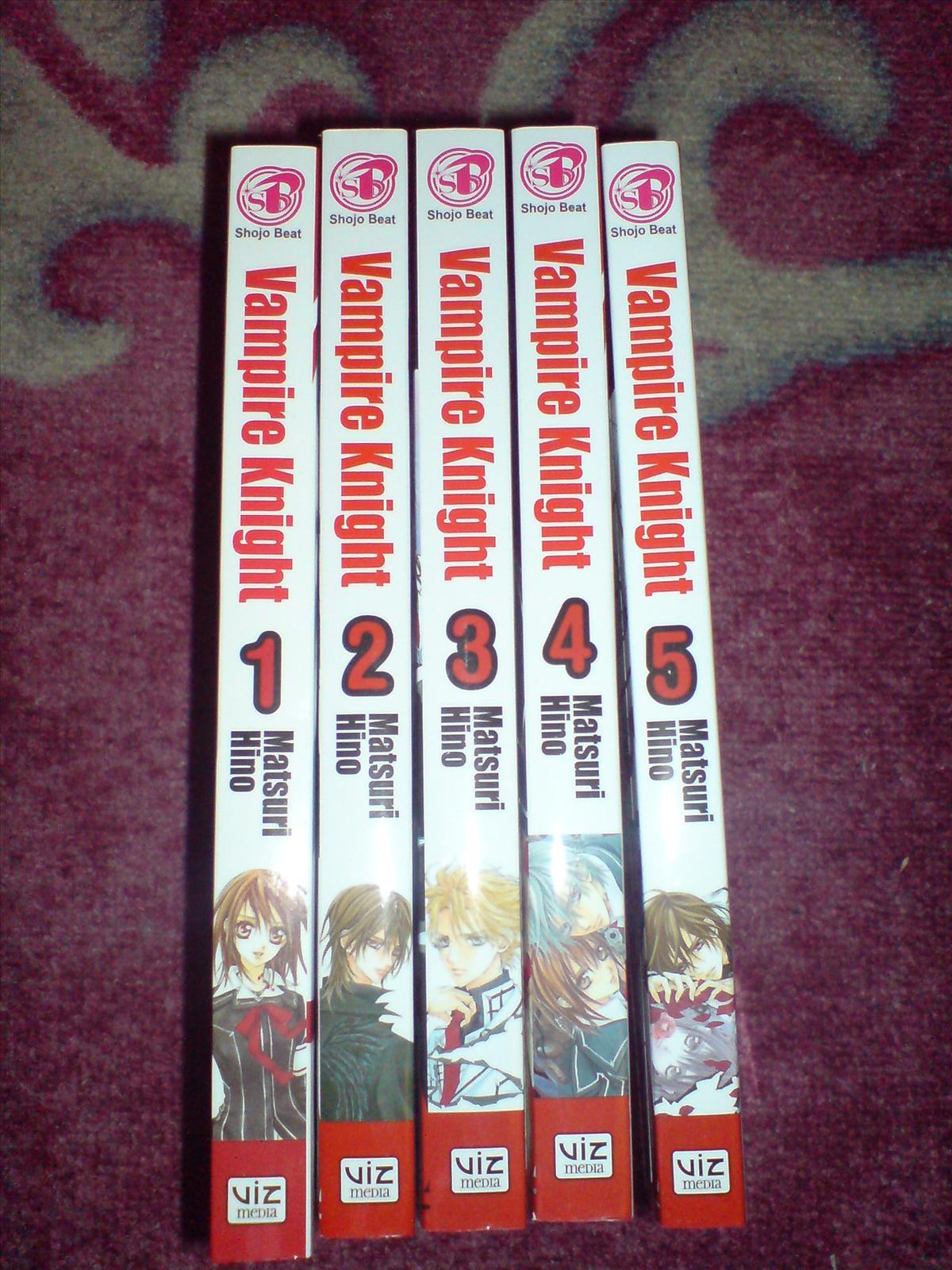 Vampire Knight manga säljes Var köpa japanska saker, godis och mat och SäLJES Japan iFokus